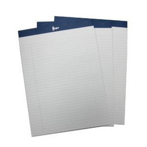 "Refill Pack of 3 Executive Lined 8.5"" x 11"" Writing Pads for ROYCE Portfolios"