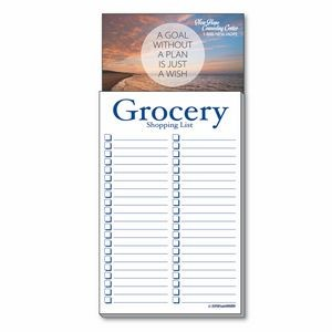 Add-On Business Card Magnet + Grocery Shopping List Pad