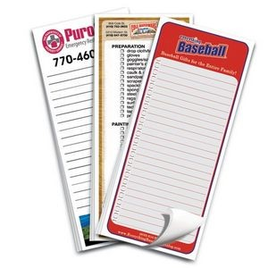"Full Color Value Notepads 3 1/2""x8"" - 25 Sheets"